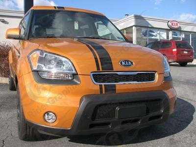 2009-2013 Kia Soul Offset Style Rally Stripe Kit