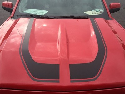 2016 - 2018 Up Silverado 1500 Rally Edition Style Hood Stripe