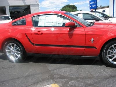 2010 - 2014 Ford Mustang Lower Side Accent Stripes