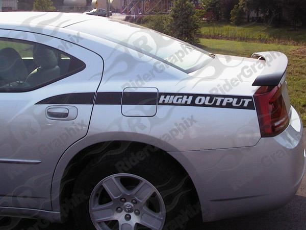2006 - 2010 Charger Daytona Style Q.P. Stripe Kits