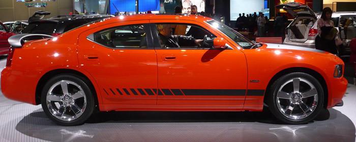 2006 - Up Charger Daytona Style Strobe Rocker Panel Stripe