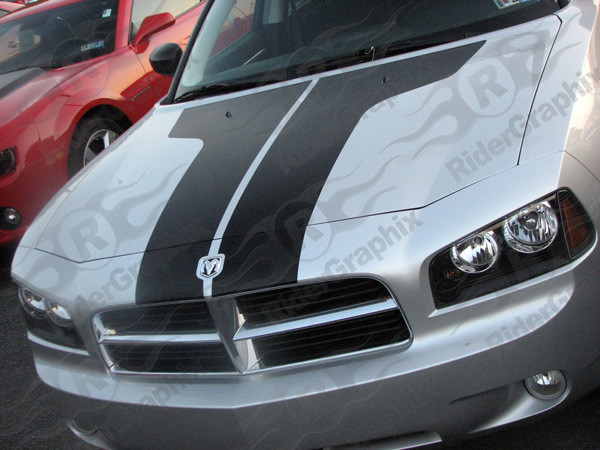 2006 - 2010 Dodge Charger Two-Piece Vintage