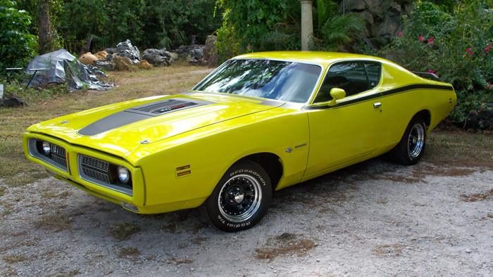 Classic 1971-1973 Charger Side Accent / Cowl Stripe Kit
