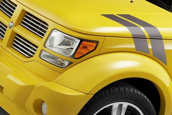 2007 - 2012 Up Dodge Nitro Hood to Fender Decal Kit