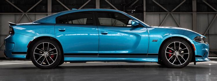 2015 - Up Dodge Charger SRT Style Rocker Panel Stripes