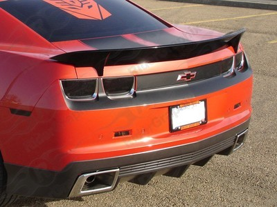 2010 - 2013 Chevrolet Camaro Rear Trunk and Fascia Blackout Decals kit