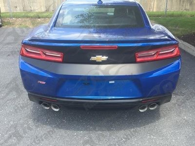 2016 - 2018 Chevrolet Camaro Rear Trunk & Bumper Combo Blackout Decals kit