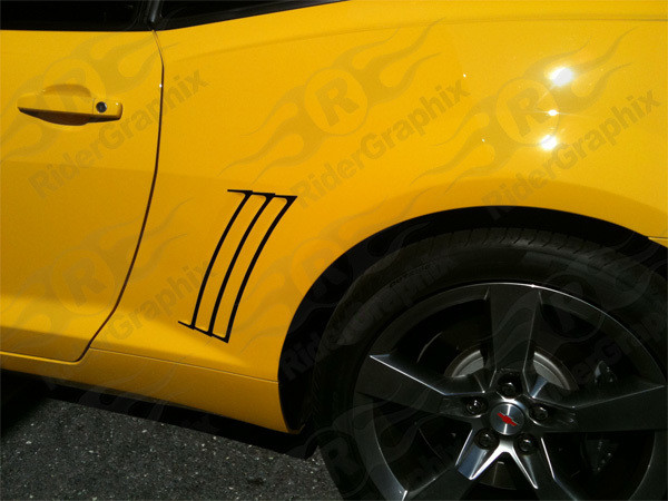 2010 - 2015 Chevrolet Camaro Rear Quarter Panel