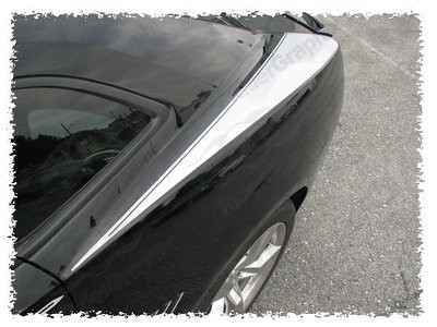 2010 - 2015 Chevrolet Camaro Rear Upper Fender Stripes