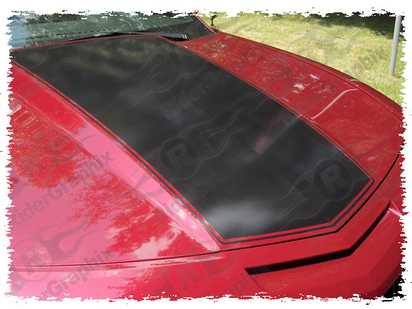2010 - 2015 Chevrolet Camaro LS/LT/SS Center Hood Stripe