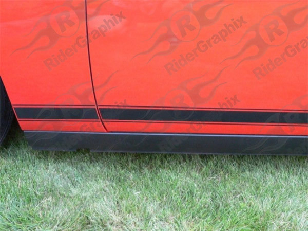 2008 - Up Challenger Rocker Panel Stripe Kits