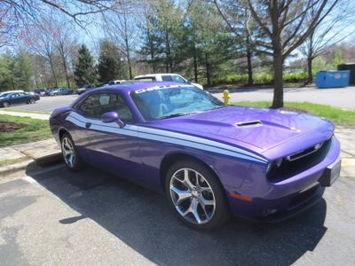 2008 - Up Dodge Challenger 71 RT Style Side Stripes