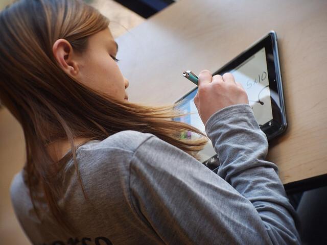Atelier découverte de l'IPAD pour les élèves