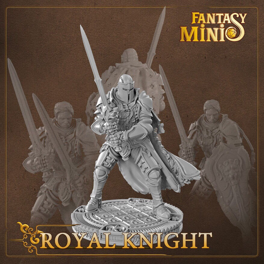 Royal Knight 28mm