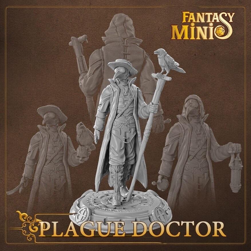 Plague Doctor 28mm
