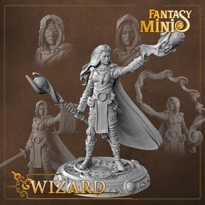 Female Wizard 28mm