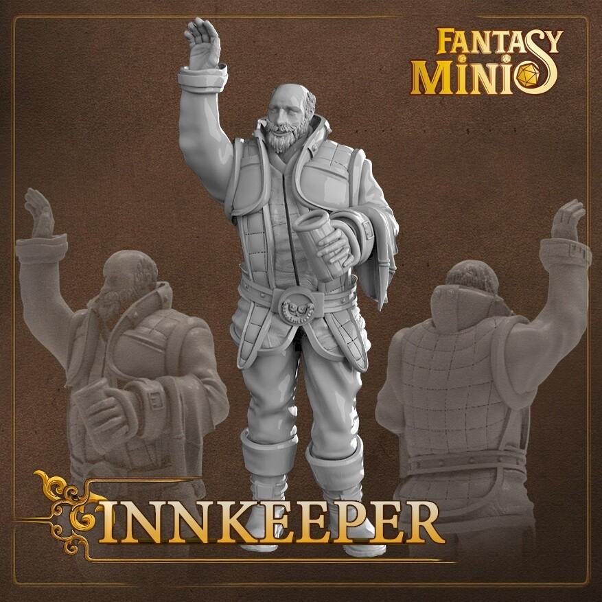 NPC Innkeeper 28mm
