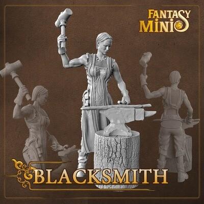 NPC Blacksmith 28mm