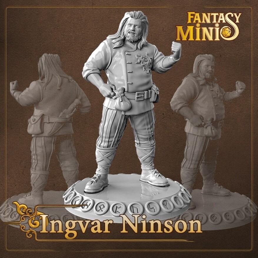 Ingvar Ninson 28mm