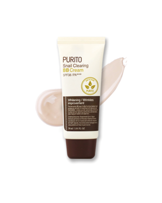PURITO Snail Clearing BB Cream SPF38 / PA+++ #21, 30ml