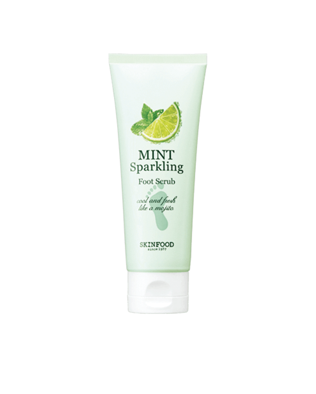 SKINFOOD Mint Sparkling Foot Scrub 100 ml
