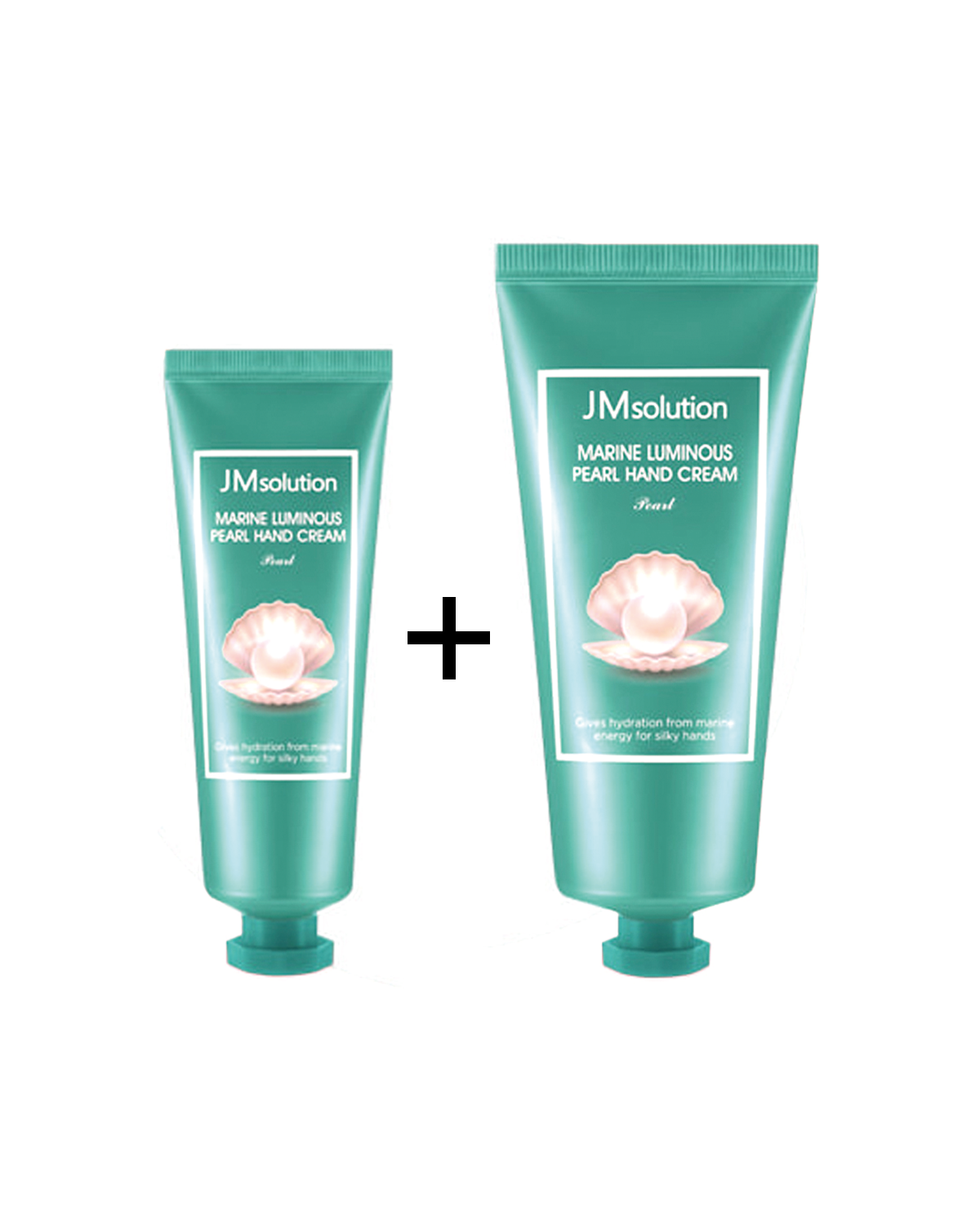 JM SOLUTION Marine Luminous Pearl Hand Cream 100 ml + 50 ml