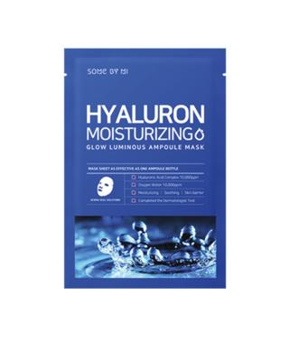 SOME BY MI Hyaluron Moisturizing Glow Luminous Ampoule Mask 25 g
