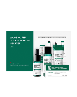 SOME BY MI AHA BHA PHA 30 Days Miracle Starter Kit Edition 1 Pack 4 Items