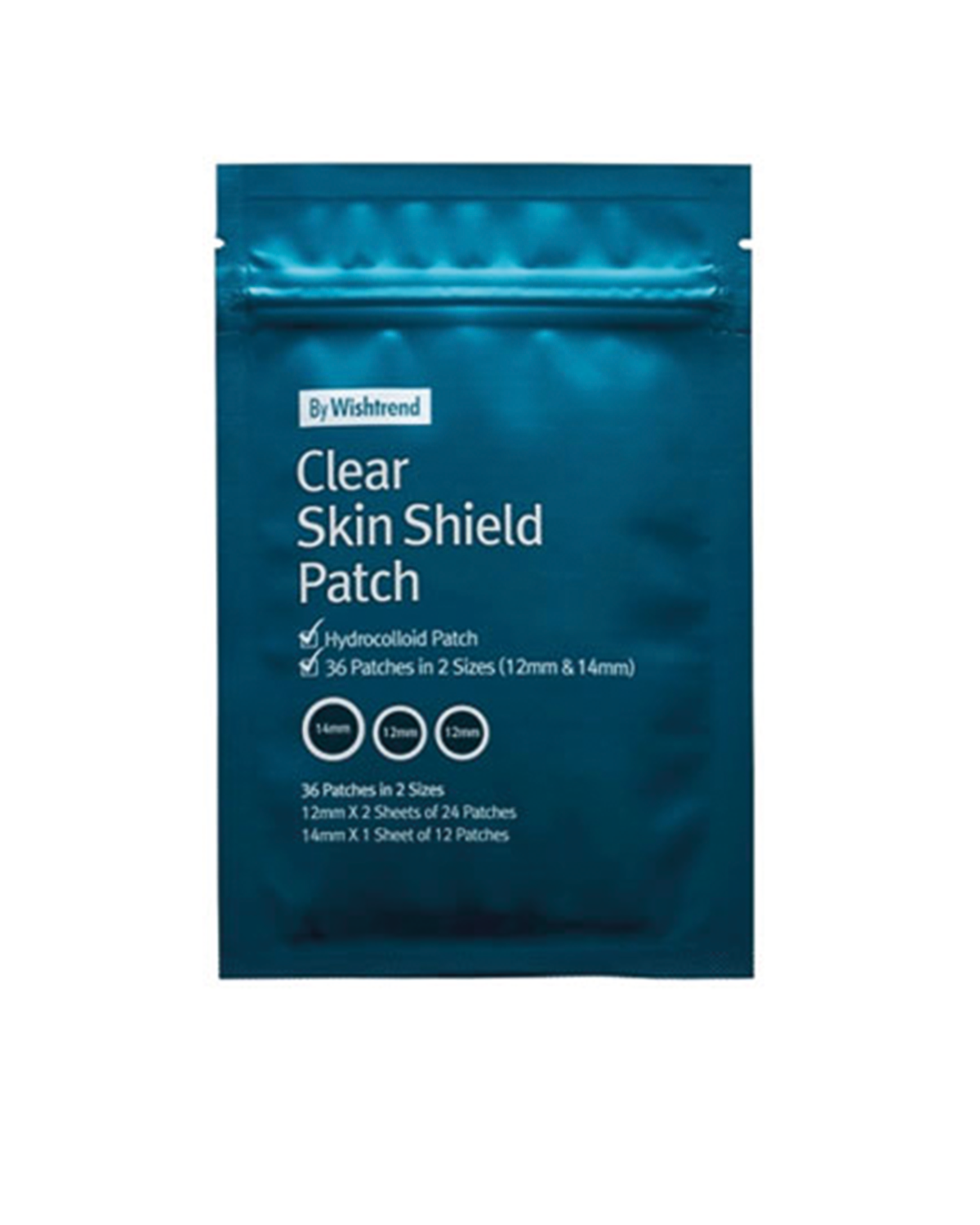 BY WISHTREND Clear Skin Shield Patch 36 ea