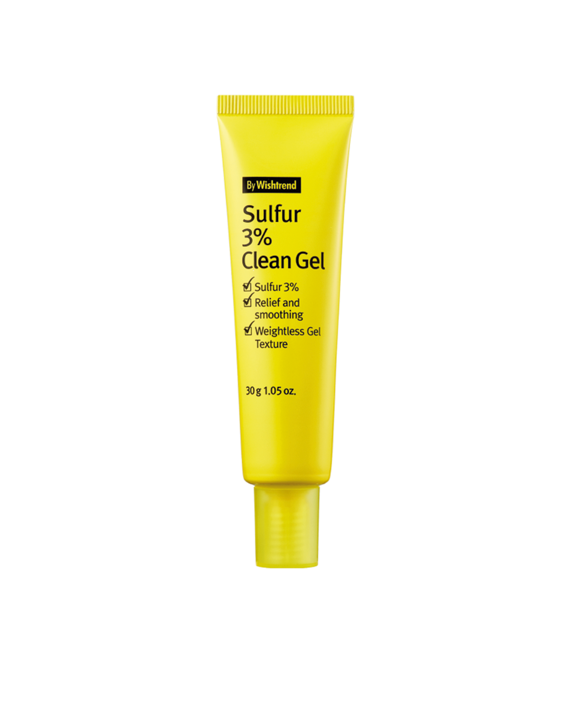 BY WISHTREND Sulfur 3% Clean Gel 30 g