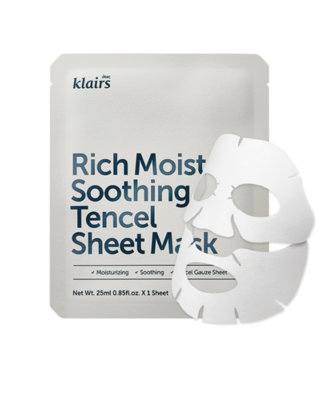 KLAIRS Rich Moist Soothing Tencel Sheet Mask 25 ml