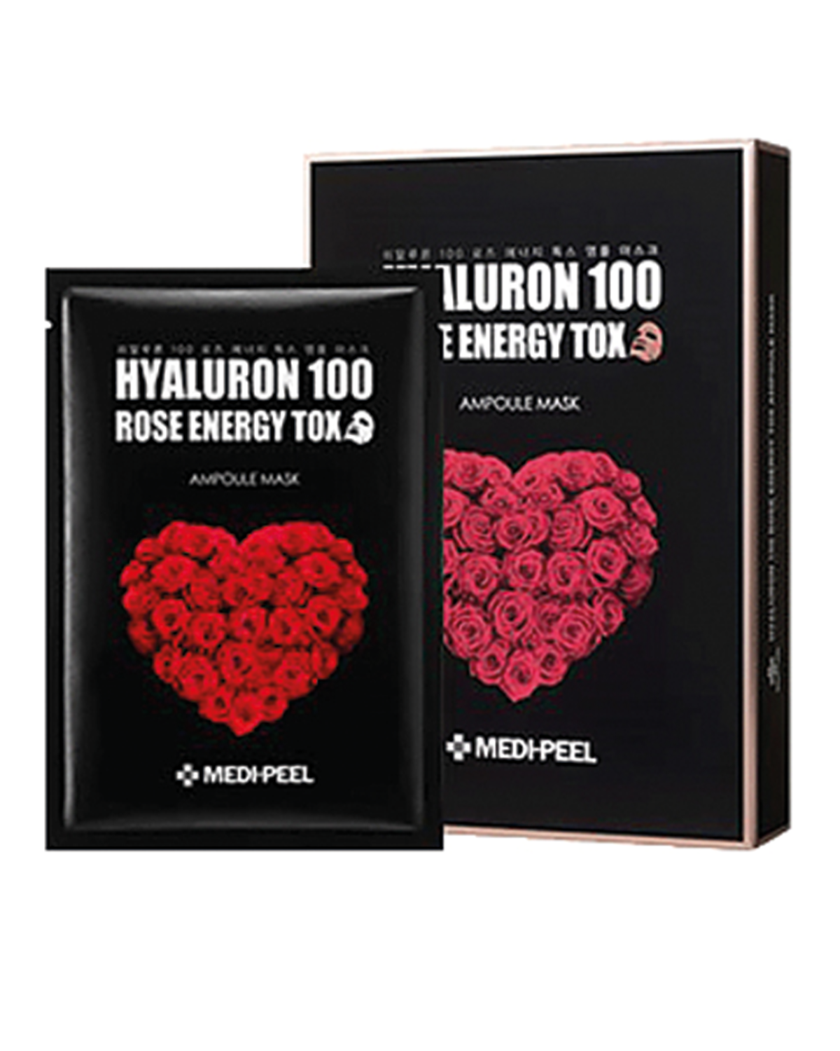MEDI-PEEL Hyaluron 100 Rose Energy Tox 30 ml x 10 ea