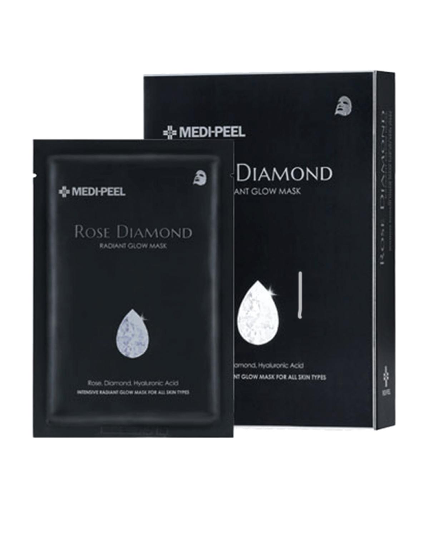 MEDI-PEEL DERMA MAISON Rose Diamond Radiant Glow Mask 25 ml x 10 ea