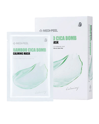 MEDI-PEEL Bamboo Cica Bomb Calming Mask 25 ml x 10 ea
