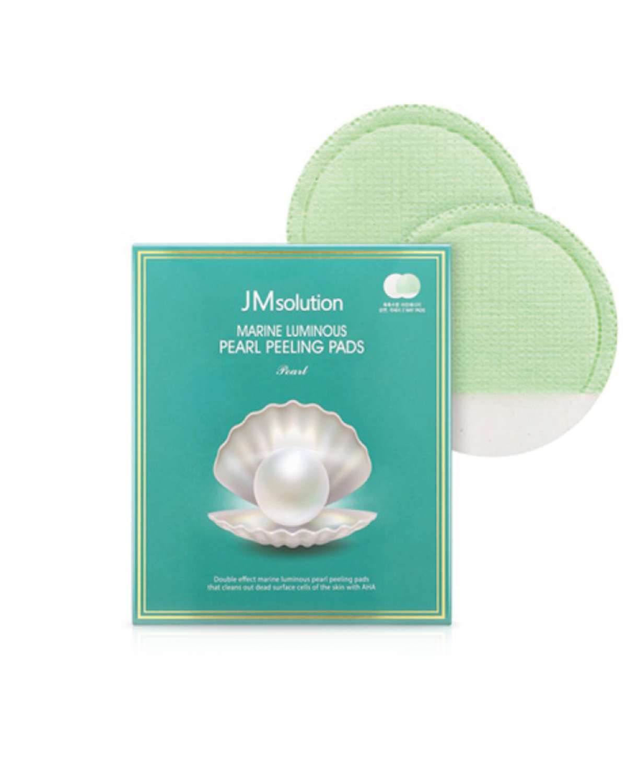 JM SOLUTION Marine Luminous Pearl Peeling Pads 10 ea