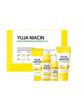 SOME BY MI Yuja Niacin 30 Days Brightening Starter Kit 1 Pack 4 Items