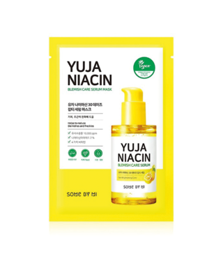 SOME BY MI Yuja Niacin 30 Days Blemish Care Serum Mask 25 g