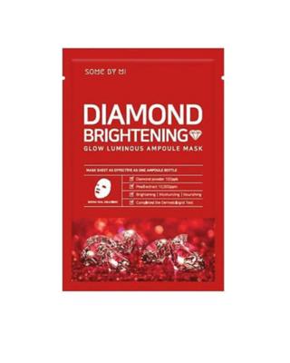 SOME BY MI Diamond Brightening Calming Glow Luminous Ampoule Mask 25 g