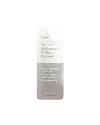 KLAIRS Soft Airy UV Essence SPF50+ PA++++ Tester 2 ml