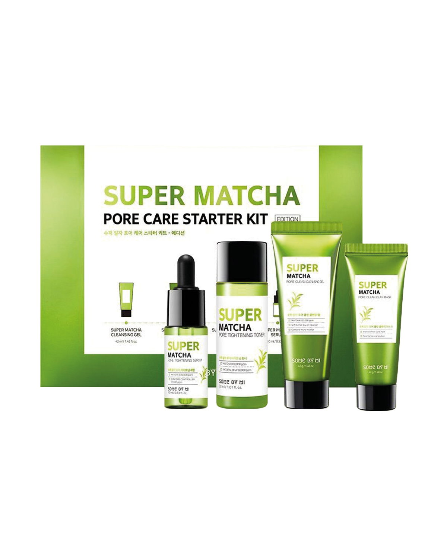 SOME BY MI Super Matcha Pore Care Starter Kit 4 items