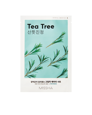 MISSHA Airy Fit Sheet Mask TEA TREE 19g