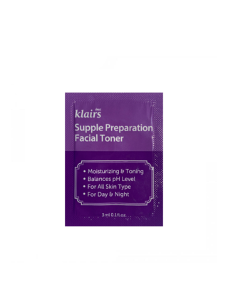 KLAIRS Supple Preparation Facial Toner Sample 3 ml