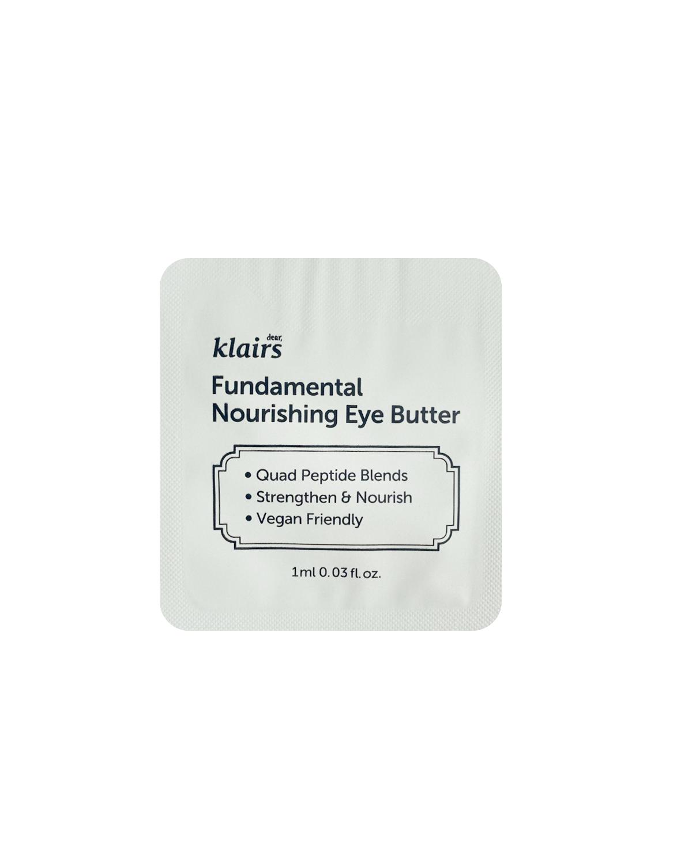 KLAIRS Fundamental Nourishing Eye Butter Sample 1ml