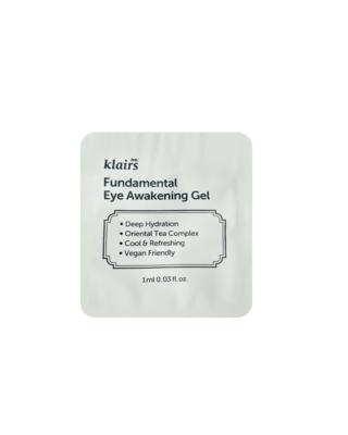 KLAIRS Fundamental Eye Awakening Gel Sample 1 ml