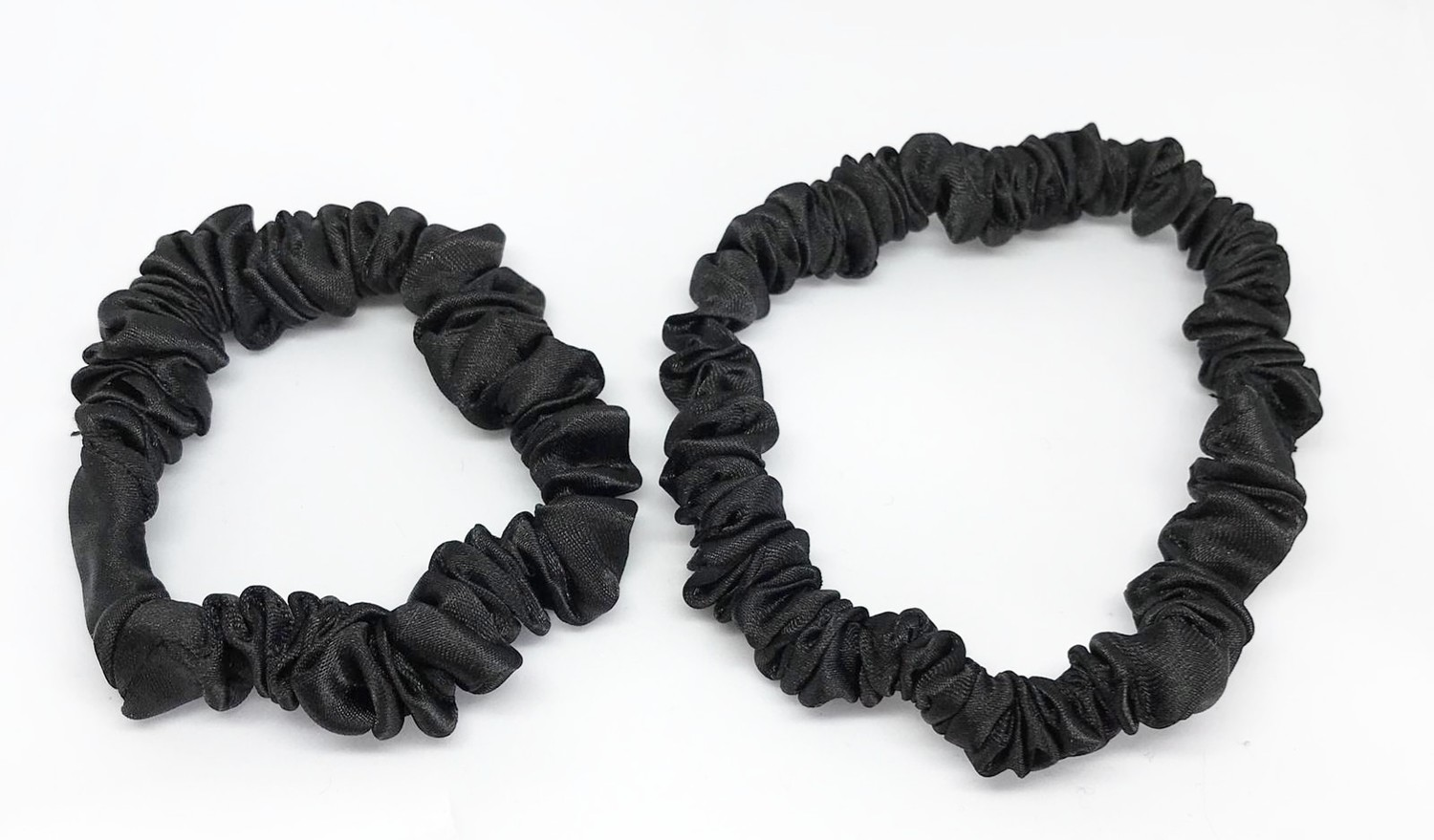 Satin Slim Scrunchie