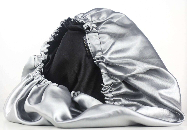 Luxury Reversible Satin Bonnet