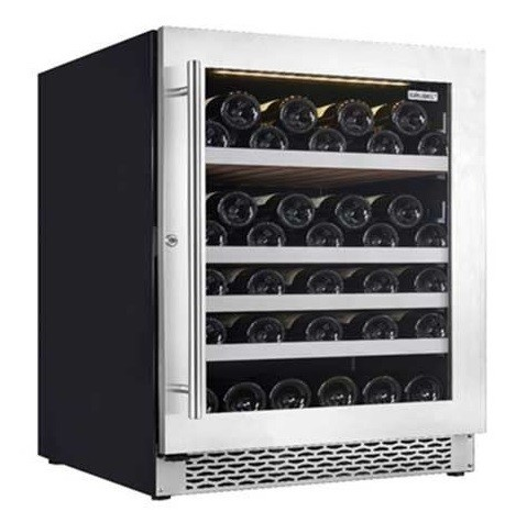 Grubel Wine Cabinet - 54 Bottles - Single Temperature (GWC-ST50SS)