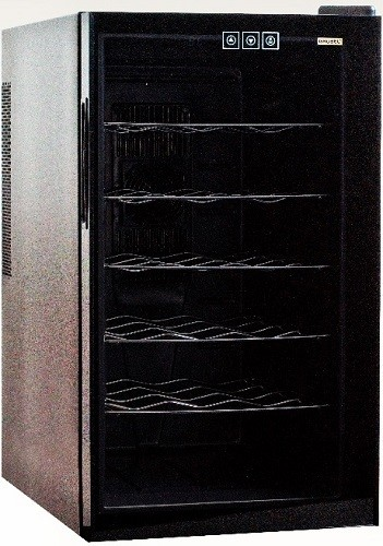 Grubel Wine Cabinet - 18 bottles - Single Temperature (GWC-TP18BK)