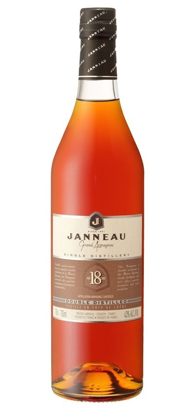 Janneau '18 Years Old' Grand Armagnac