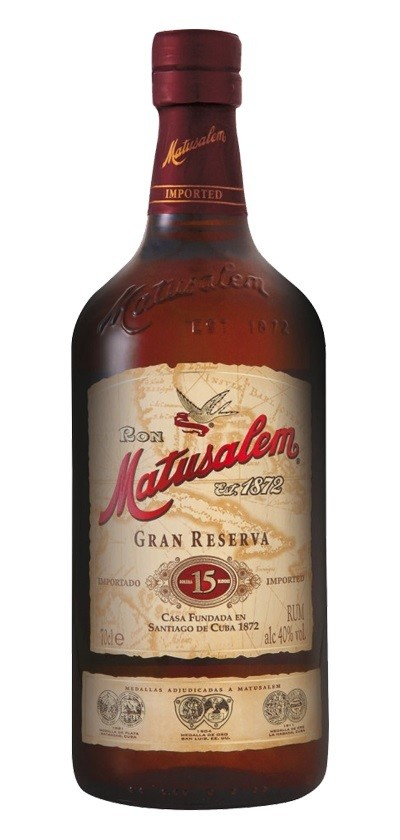 Matusalem 'Solera 15 Years Old' Gran Reserva Rum